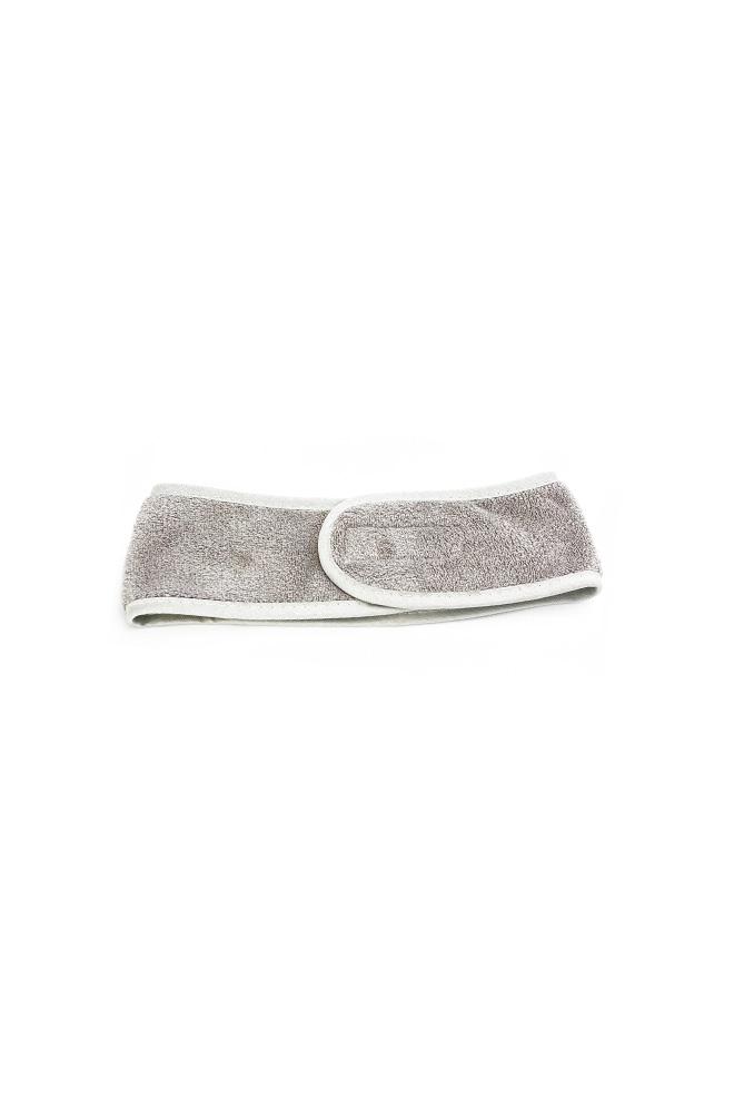 Cosmetische haarband grijs