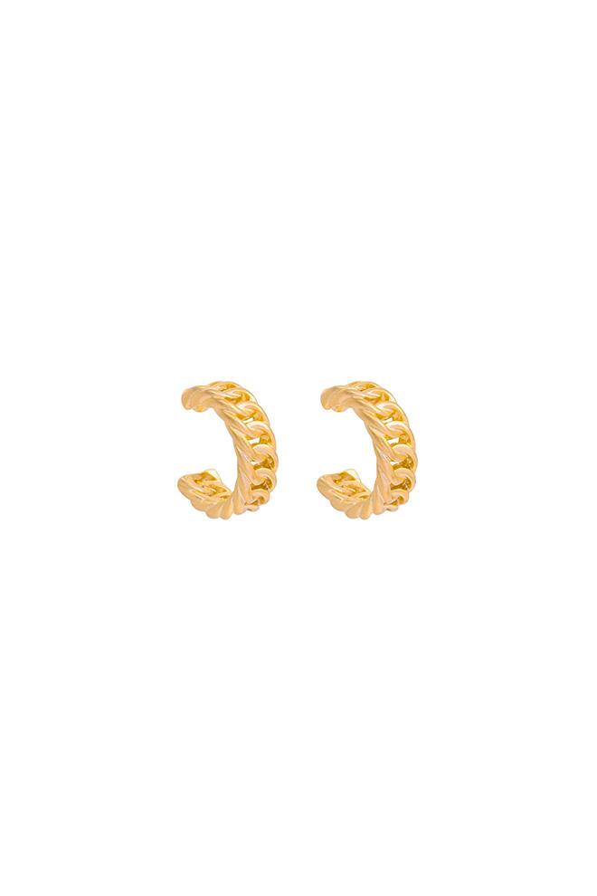 Gouden Chain oorringen